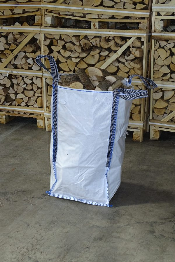 Kiln dried firewood barrow bag